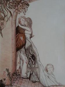 Sepia-inkt 30-40 cm